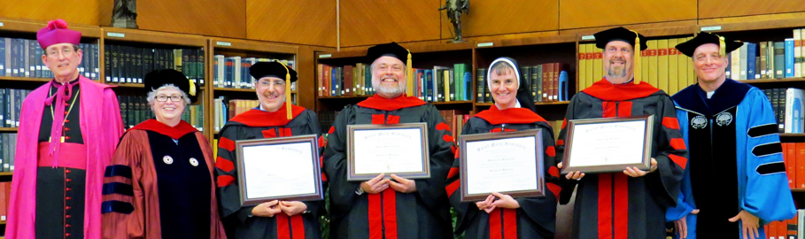 2014 Doctor of Ministry Graduates