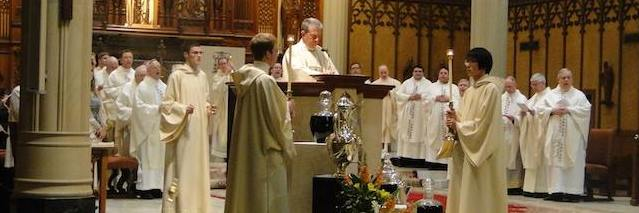 """Chrism Mass – """"Nourish them with the Word"""""""