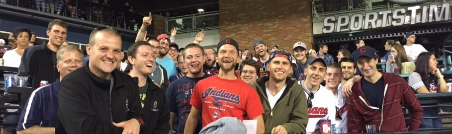 """""""Bringing home an Indians win!"""""""