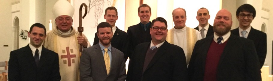 Candidates for Holy Orders – Class of 2017