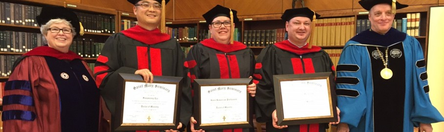 Doctor of Ministry Graduates 2016