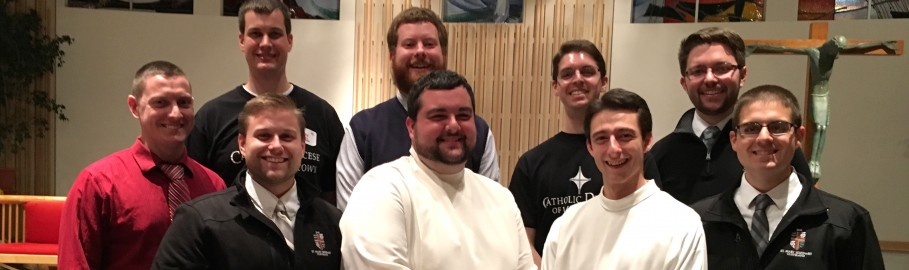 Youngstown Seminarians installed as Acolytes