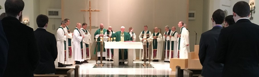 Mass with Bishop Daniel Thomas