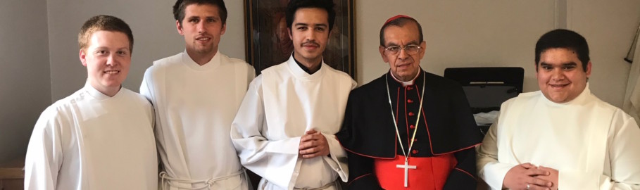 Cardinal Chavez honored for support of COAR Peace Mission in El Salvador