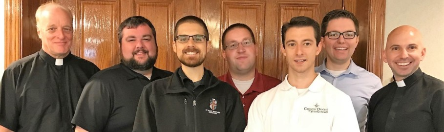 Pastoral Internship Year begins for five seminarians